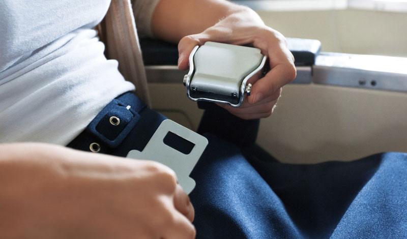 Ремни безопасности для самолетов