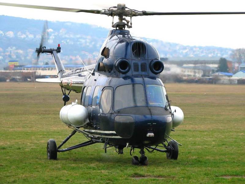 Опрыскиватель для вертолета Ми-2