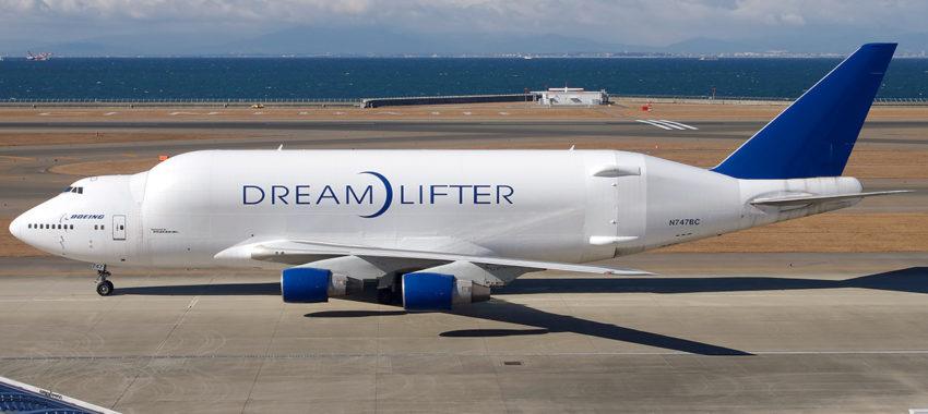 Boeing 747 Dreamlifter. На крыльях мечты